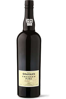 W&J GRAHAM'S Crusted Port 2002 750ml