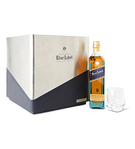 Blue Label Porsche Design Cube gift set with four glasses 700ml