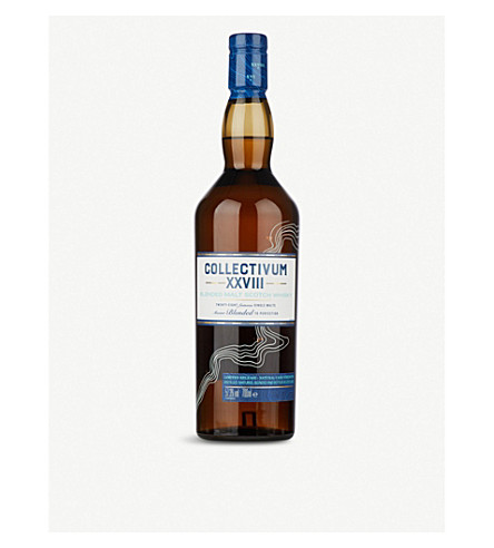 WHISKY AND BOURBON Diageo Collectivum XXVII blended scotch whisky 700ml