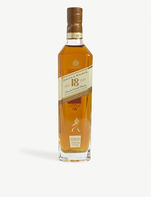 JOHNNIE WALKER Platinum Label 18 year old Scotch whisky 700ml