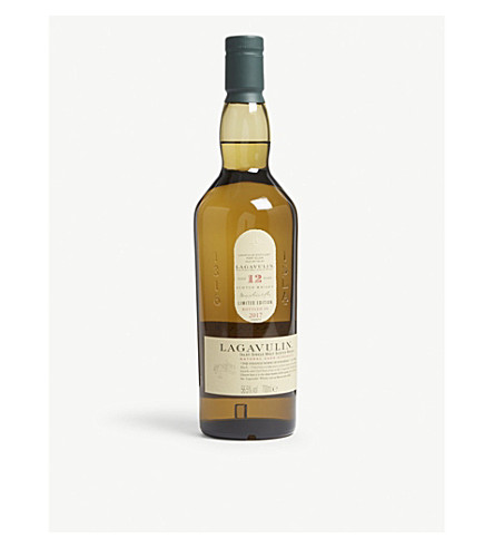 WHISKY AND BOURBON Lagavulin 12 year-old single-malt scotch whisky 700ml