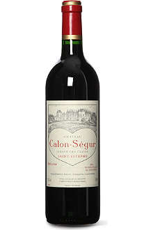 CHATEAU CALON SEGUR Saint Estephe 1996 750ml