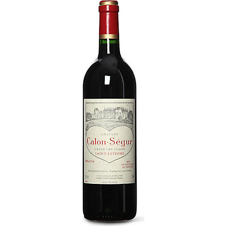 CHATEAU CALON SEGUR Saint Estephe 750ml
