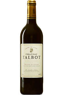 FINE WINES Chateau Talbot 1996 750ml