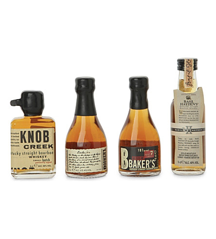 BOURBON LEGENDS Small batch bourbon collection 4 x 50ml
