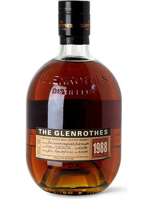 THE GLENROTHES 1988 single male Scotch whisky 700ml