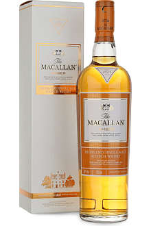 THE MACALLAN Amber 1824 series single malt scotch whisky 700ml