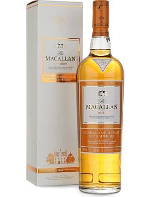MACALLAN Amber 1824 series single malt scotch whisky 700ml