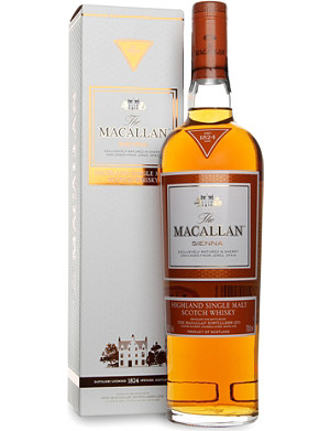 MACALLAN Sienna 1824 series single malt scotch whisky 700ml