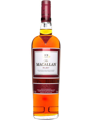 MACALLAN Ruby 1824 series single malt scotch whisky 700ml