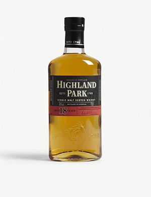 HIGHLAND PARK 18 year old single malt Scotch whisky 700ml
