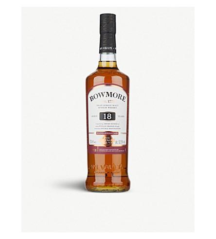 WHISKY AND BOURBON Bowmore 17 year-old manzanilla single malt Scotch whisky 700ml