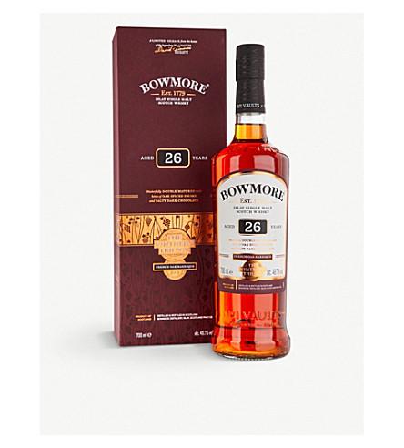 BOWMORE Bowmore trilogy 26-year-old single malt Scotch whisky 700ml