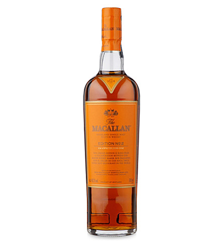 MACALLAN Edition No.2 single malt Scotch whisky 700ml