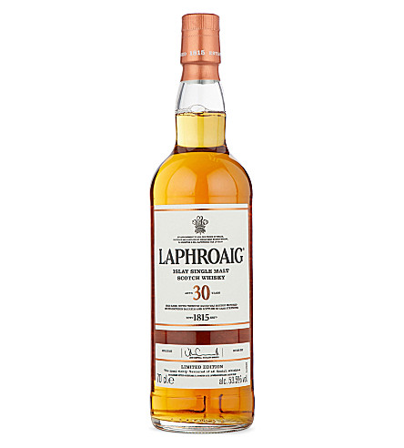 ISLAY Laphroaig 30 Year Old single malt whisky 700ml