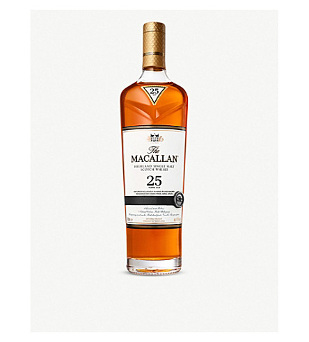 MACALLAN Macallan 25 year old single malt whisky