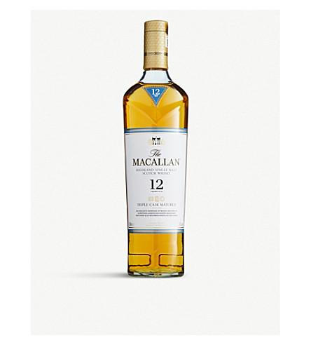 MACALLAN Macallan Triple Cask 12-year-old single malt Scotch whisky 700ml