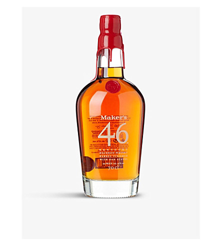 WHISKY AND BOURBON Maker's Mark 46 Bourbon whisky 700ml