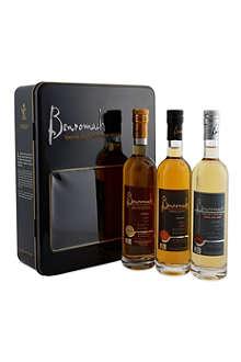 BENROMACH Single malt whisky gift tin 3x200ml