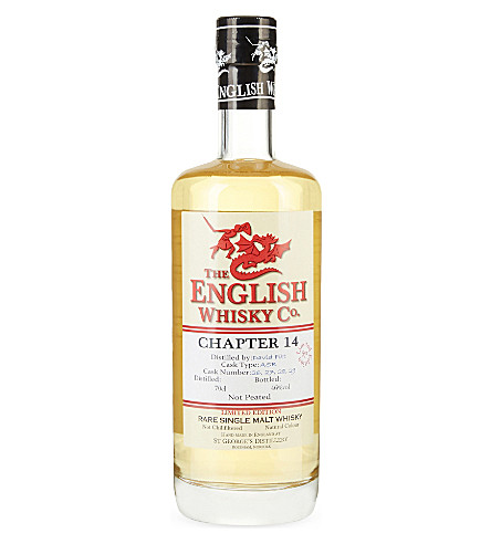 ENGLISH WHISKEY CO Chapter 14 rare single malt whisky 700ml