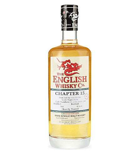 ENGLISH WHISKEY CO English whisky chapter 15 700ml