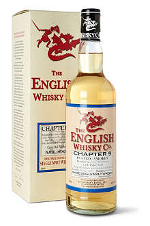 THE ENGLISH WHISKY CO. St Georges Chapter 9 single malt whisky 700ml