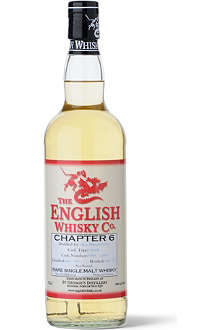 THE ENGLISH WHISKY CO. St Georges Chapter 6 whisky 700ml