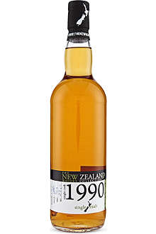THE NEW ZEALAND WHISKY COLLECTION Single cask whisky 1990 700ml