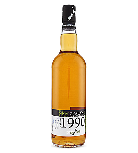 NEW ZEALAND Single cask whisky 1990 700ml