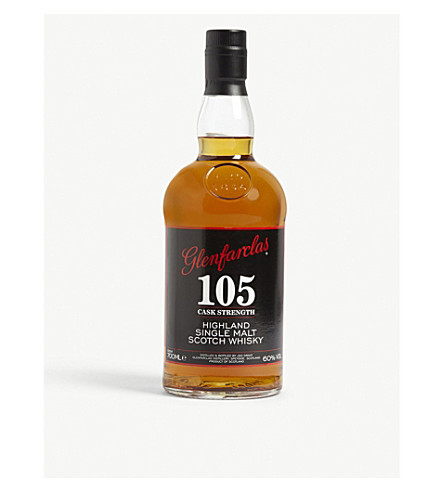GLENFARCLAS 105 Cask Strength 21 year old single malt whisky 700ml