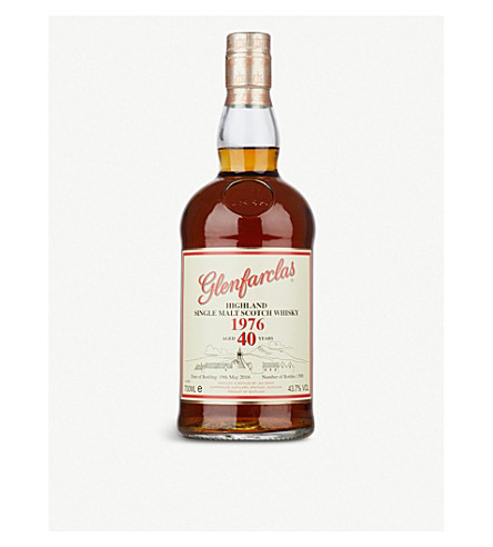 GLENFARCLAS Glenfarclas 1976 40-year-old single malt scotch whisky 700ml