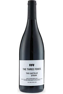 THREE FOXES The Castillo Syrah 750ml