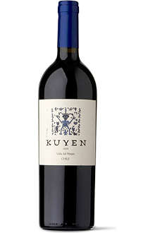 ANTIYAL Kuyen Syrah Cabernet 2009 750ml