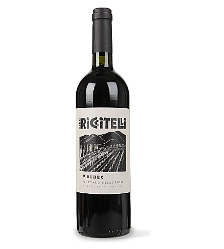 RICCITELLI VINEYARDS Vineyard Selection Malbec 2011 750ml