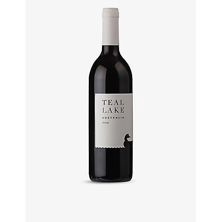 TEAL LAKE Shiraz red wine 750ml