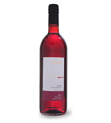 GIVON Malog sweet red wine 750ml