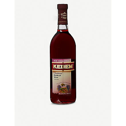 KEDEM Kedem traditional kiddush wine 750ml
