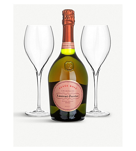 Cuvée Rosé Brut NV two-glass gift pack 750ml