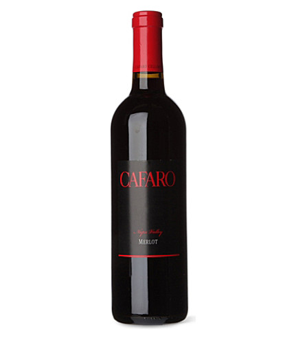 USA Cafaro merlot california 09 750ml