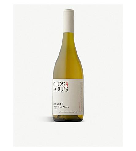 CHILE Clos des Fous Locurra 1 Chardonnay 2013 750ml