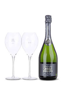 Brut Réserve champagne and glass pack 750ml