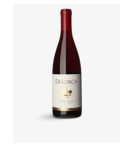 USA De loach heritage reserve pinot 11 750ml