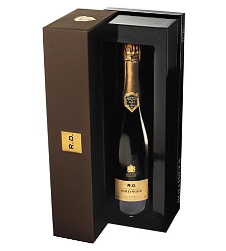 BOLLINGER Récemment Dégorgé champagne 750ml