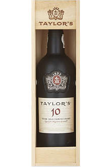 TAYLOR'S 10 YO Tawny port 750ml