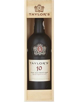TAYLOR'S 10 YO Tawny port 750ml