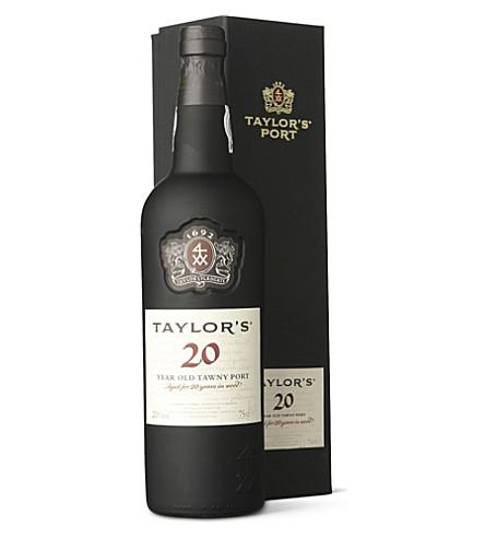 TAYLORS 20 YO Tawny port 750ml