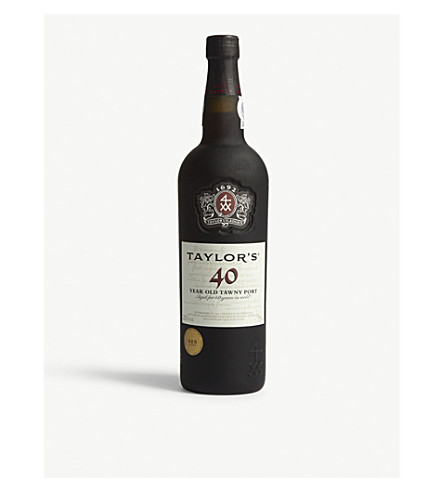 TAYLORS 40 year old tawny port 750ml