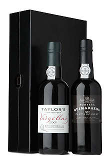 FONSECA Fonseca 1991 and Taylor's 2001 Vintage Port set 375ml