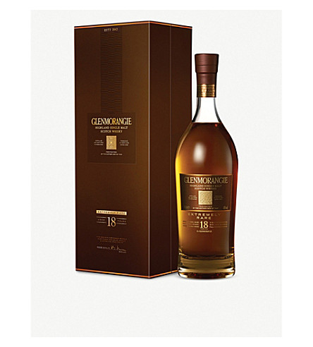 GLENMORANGIE Extremely Rare 18 year-old highland single-malt Scotch whisky 700ml