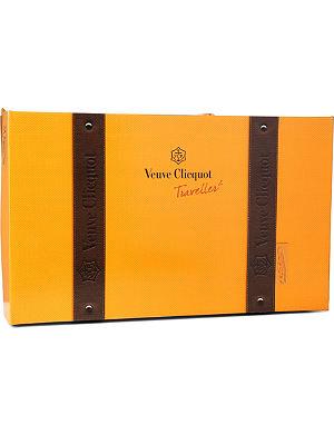 VEUVE CLICQUOT Traveller gift set 750ml